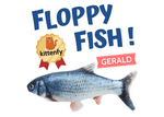floppy fish cat toy gerald variant