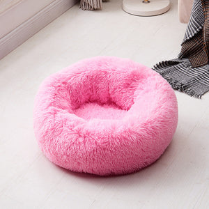 marshmallow pet bed pink color