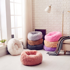calming pet beds all colors