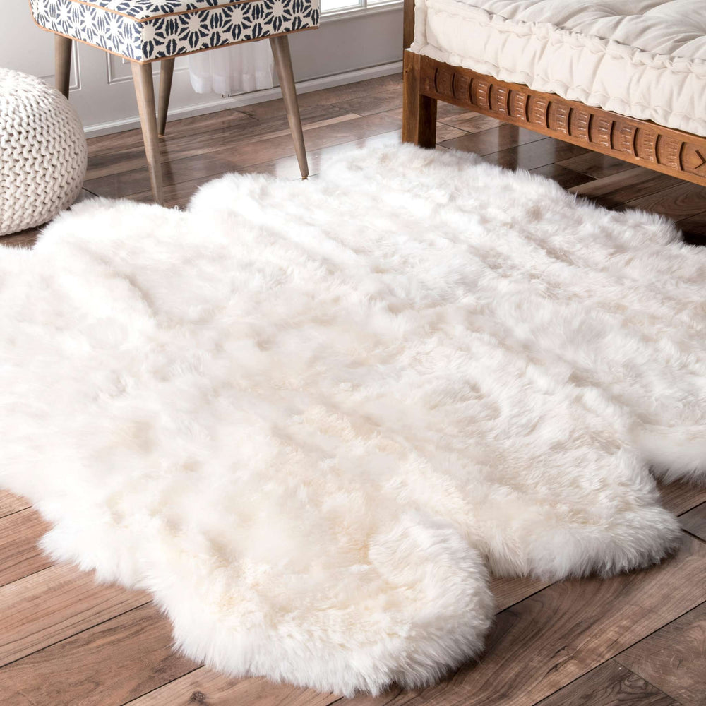 Hand Made Octo Sheepskin