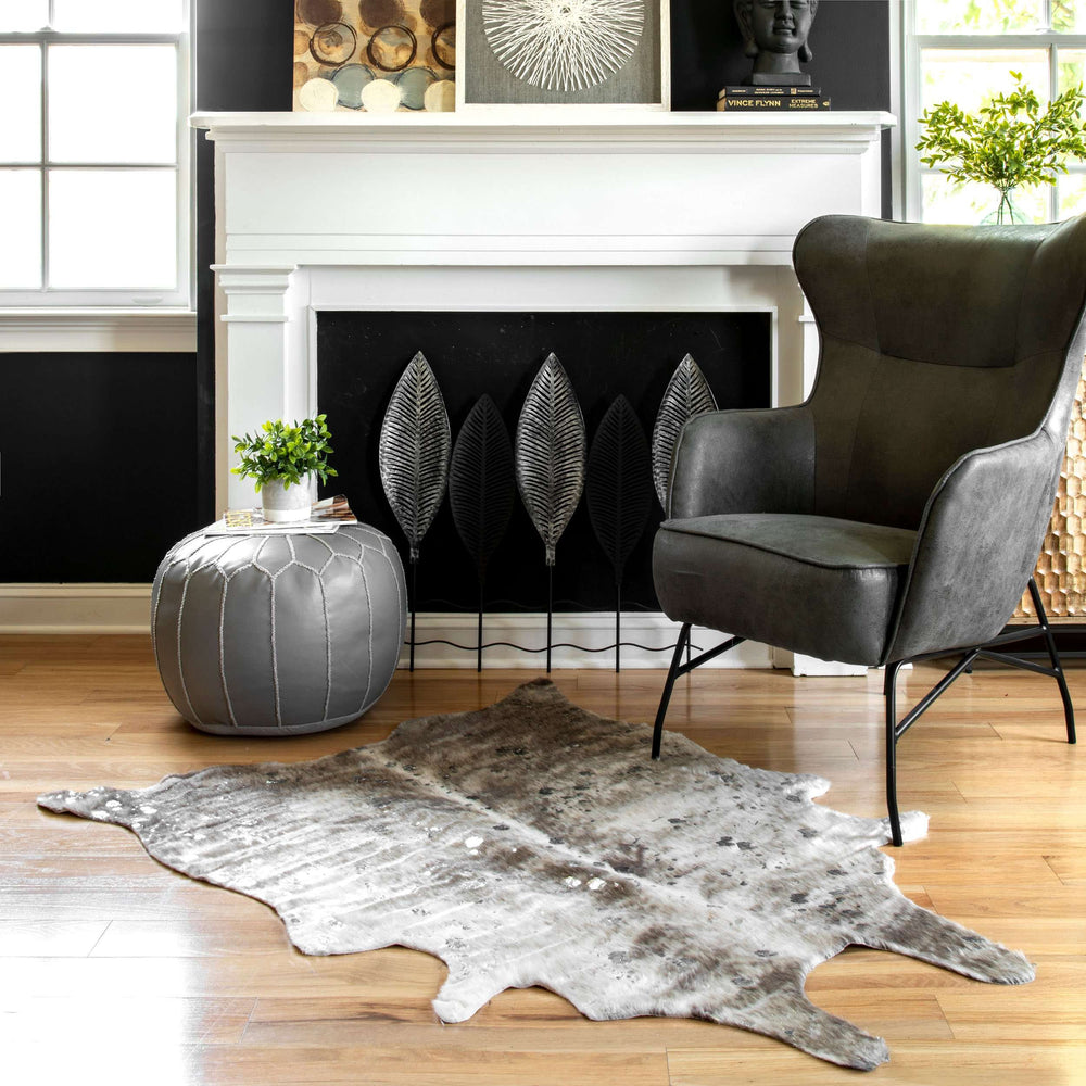 Tinley Spotted Faux Cowhide