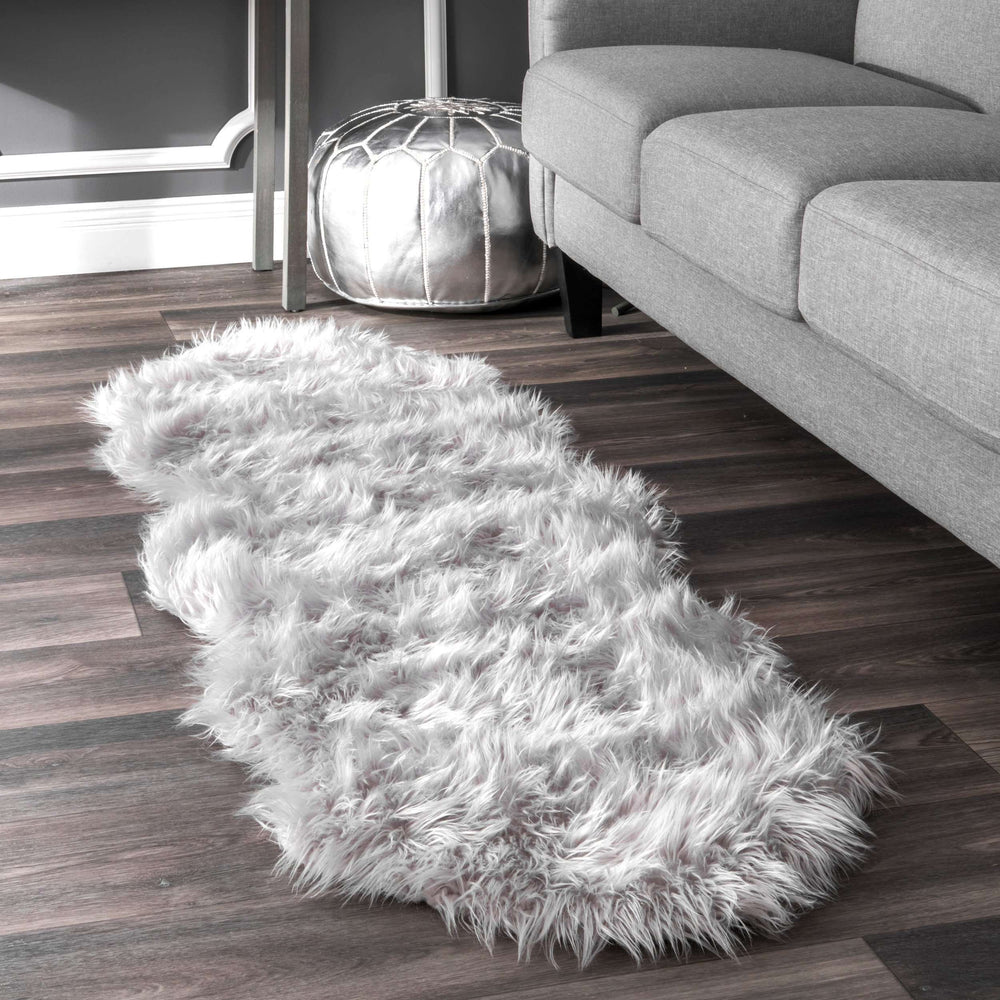 Terrell Solid Faux Sheepskin