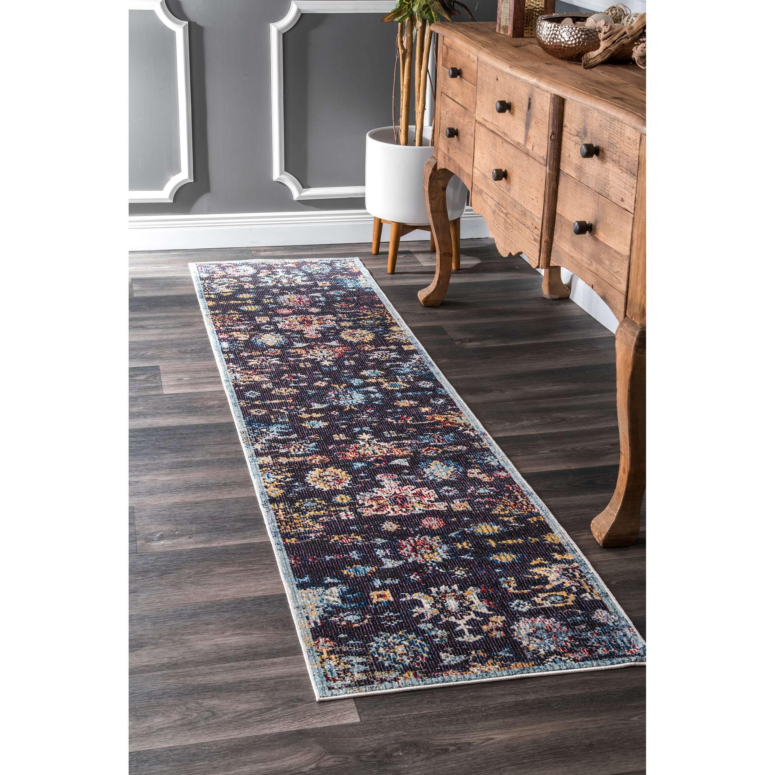 zigzags area at chindi rugs rainbow indian rug multicolored hand recycled fabric cotton bohemian tufted novica
