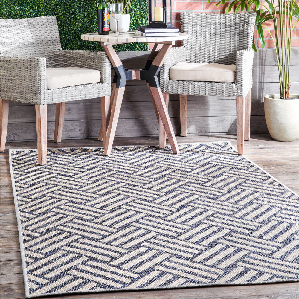 Wynter Homely Herringbone Indoor/Outdoor