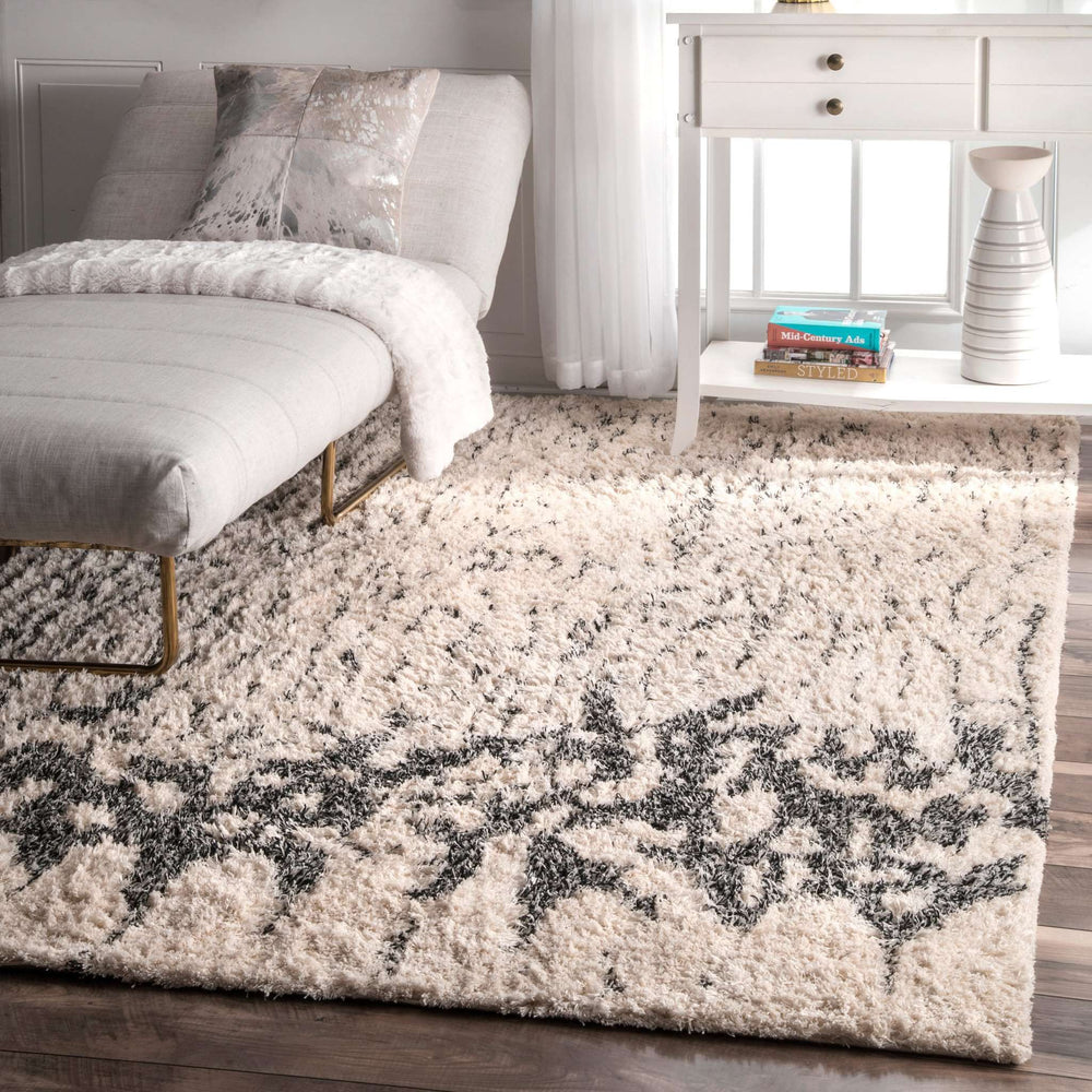 Milda Cotton Abstract Shaggy