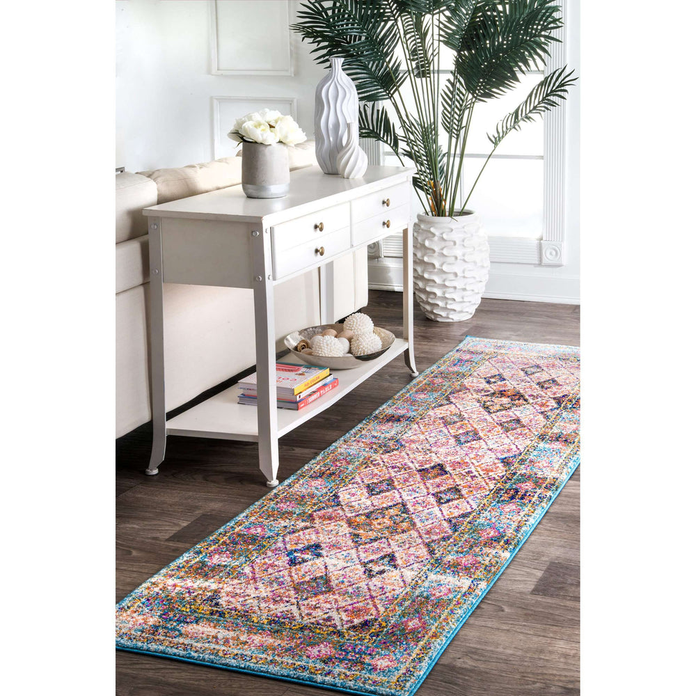Dorine Diamond Tiles Rug