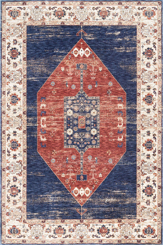 Vintage Analisse Medallion Rug