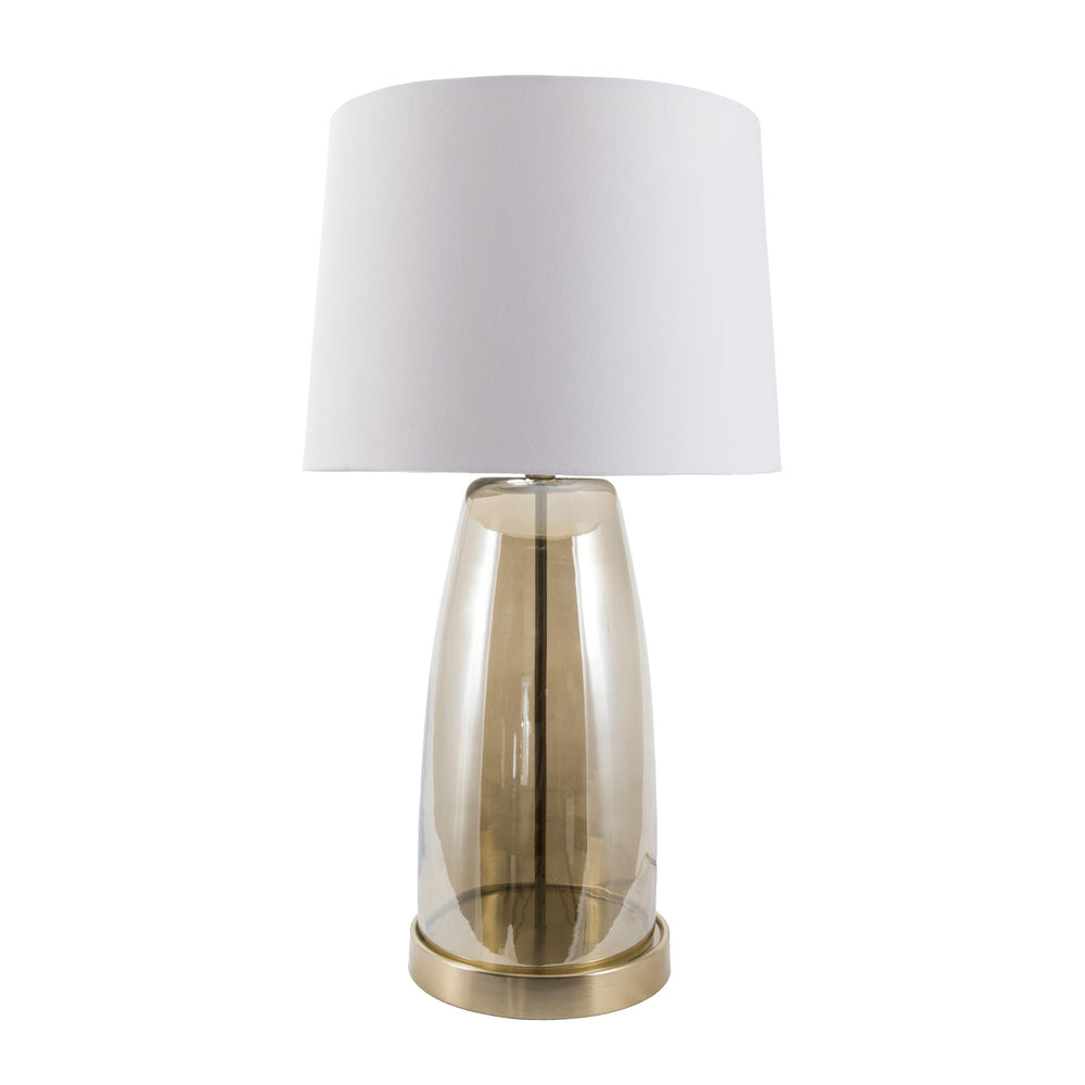 "Fresno 28"" Glass Table Lamp"