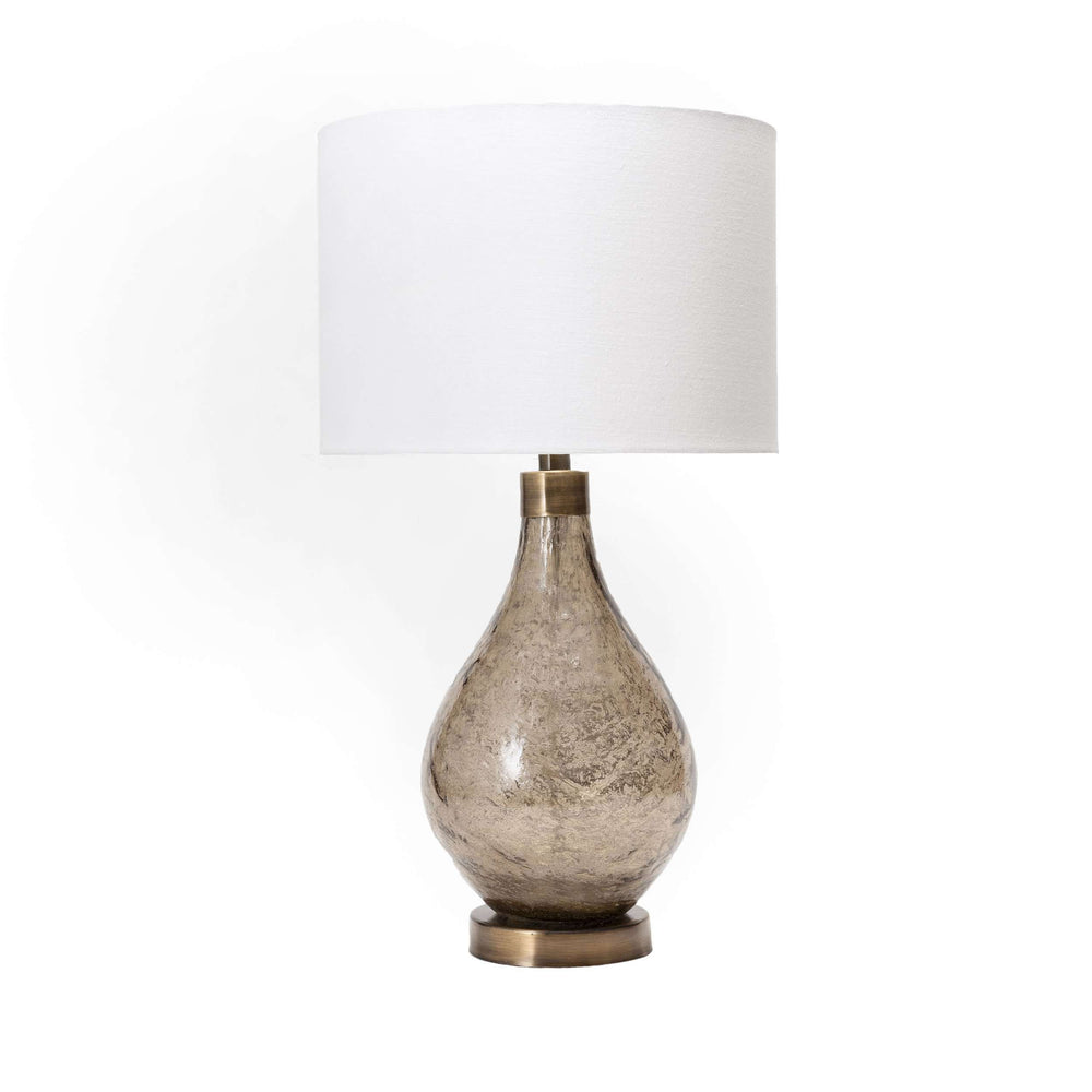 "Astor 25"" Glass Table Lamp"