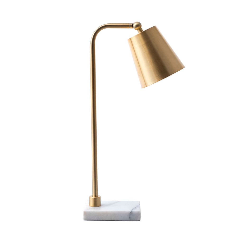 "Lincoln Brass & Marble 20"" Table Lamp"