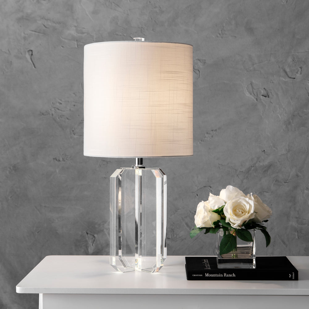 "Hollywood 25"" Crystal Table Lamp"