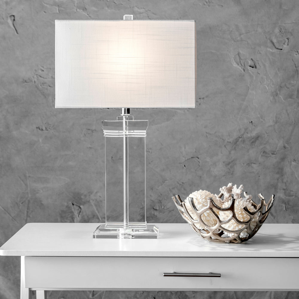 "Toledo 25"" Crystal Table Lamp"