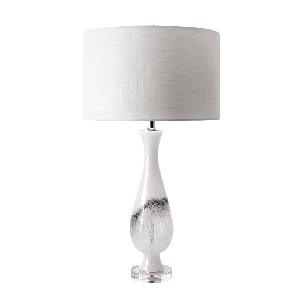 "Dayton 30"" Glass Marbleized Table Lamp"
