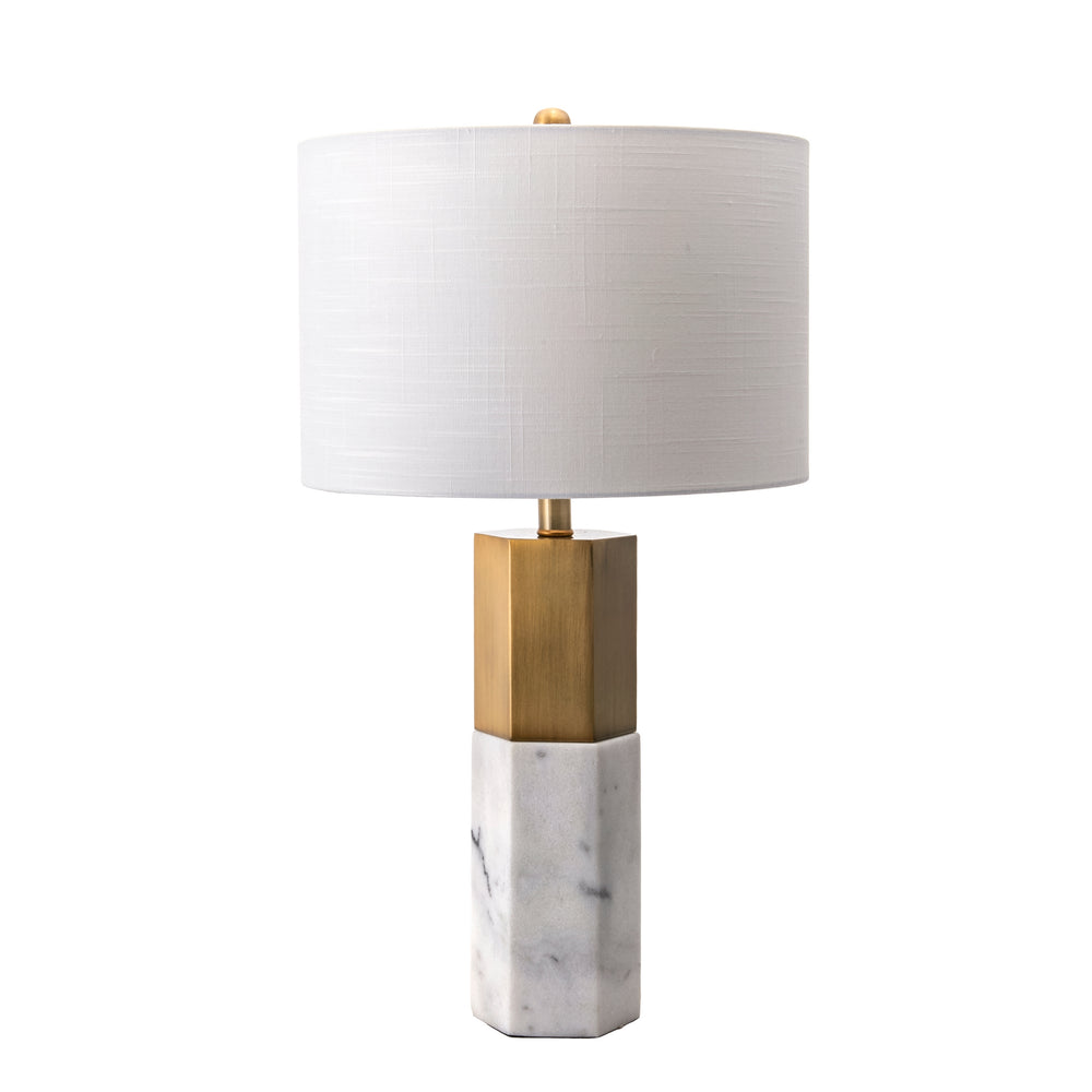 "Lafayette 27"" Marble Table Lamp"