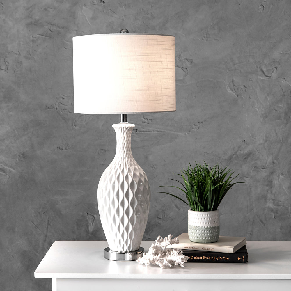 "Irvine Ceramic 28"" Table Lamp"