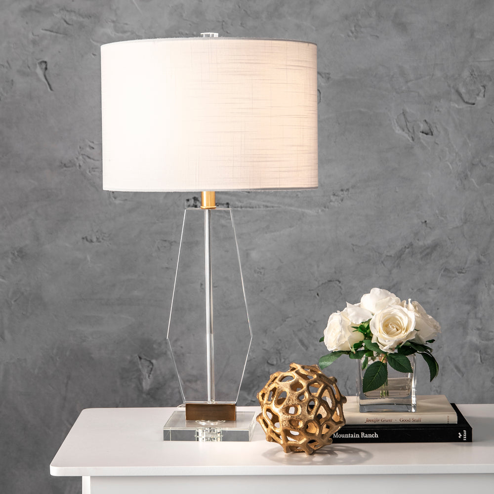 "Providence Crystal 29"" Table Lamp"