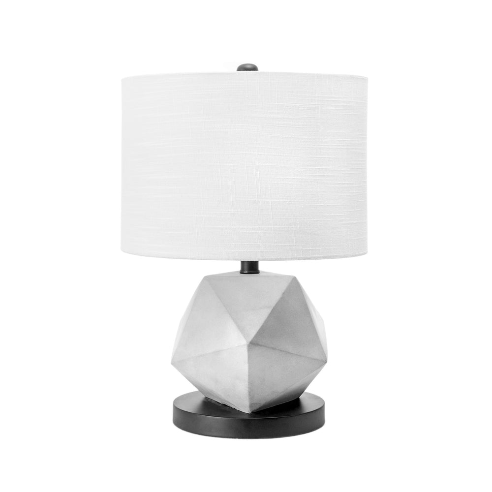 "Clairton 20"" Cement Table Lamp"