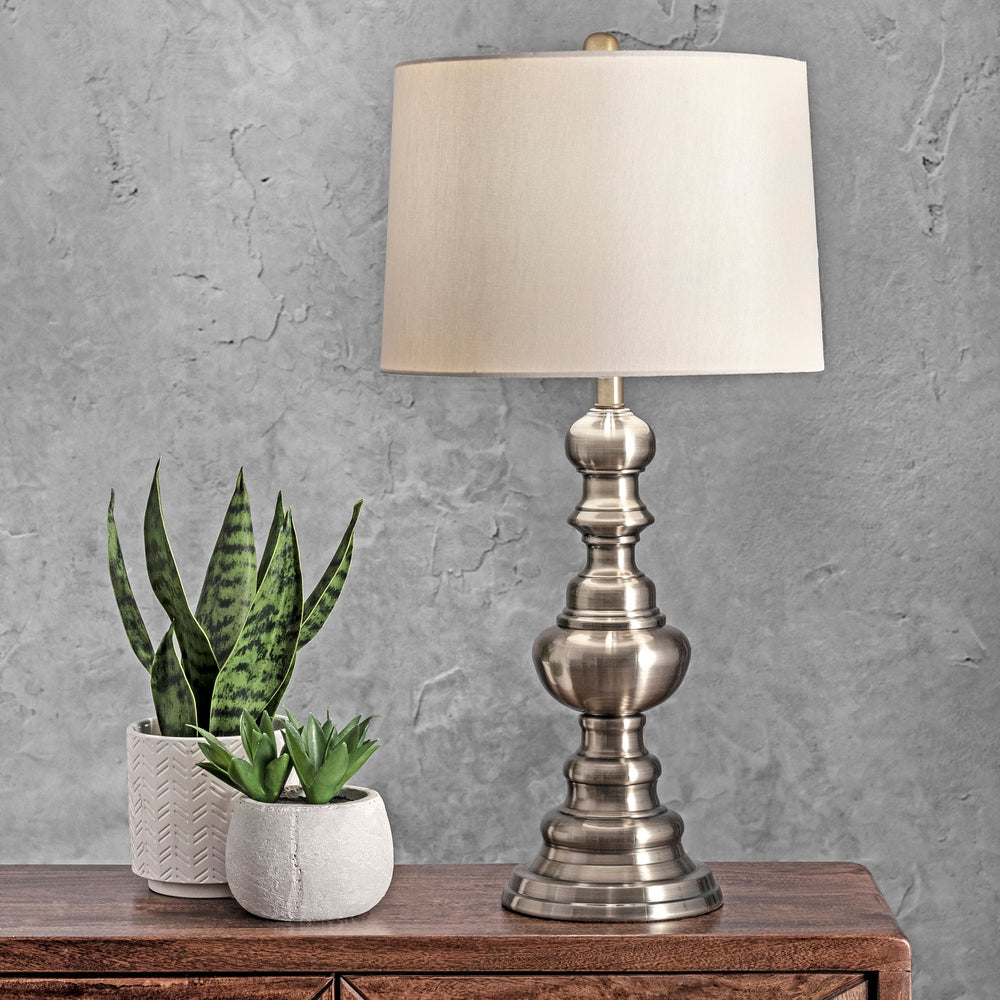 "Caribou 28"" Metal Table Lamp"