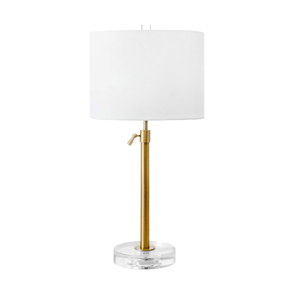 "Gardiner 26"" Crystal Table Lamp"