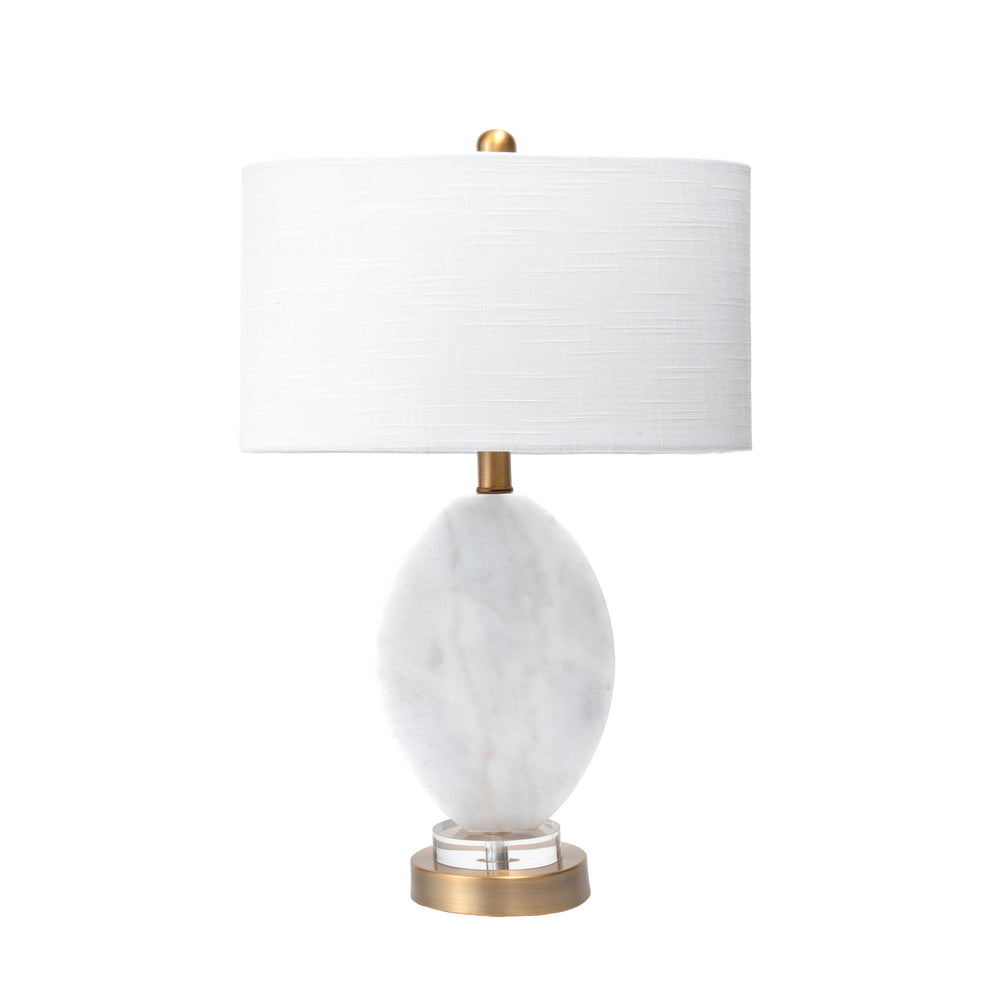 "Fulton 22"" Marble Table Lamp"