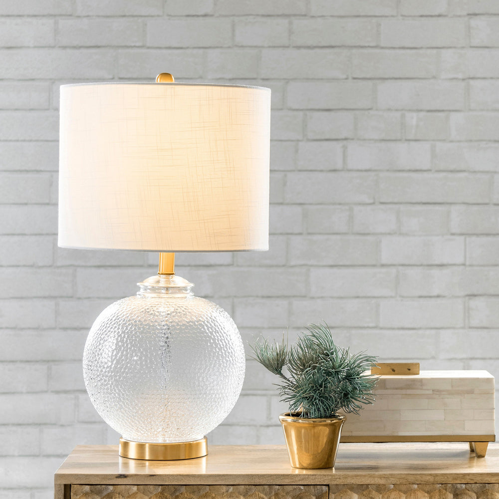 "Elmira 23"" Glass Table Lamp"