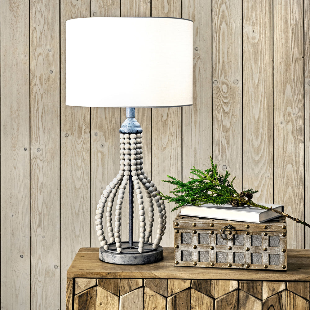 "Valley 25"" Rattan Table Lamp"