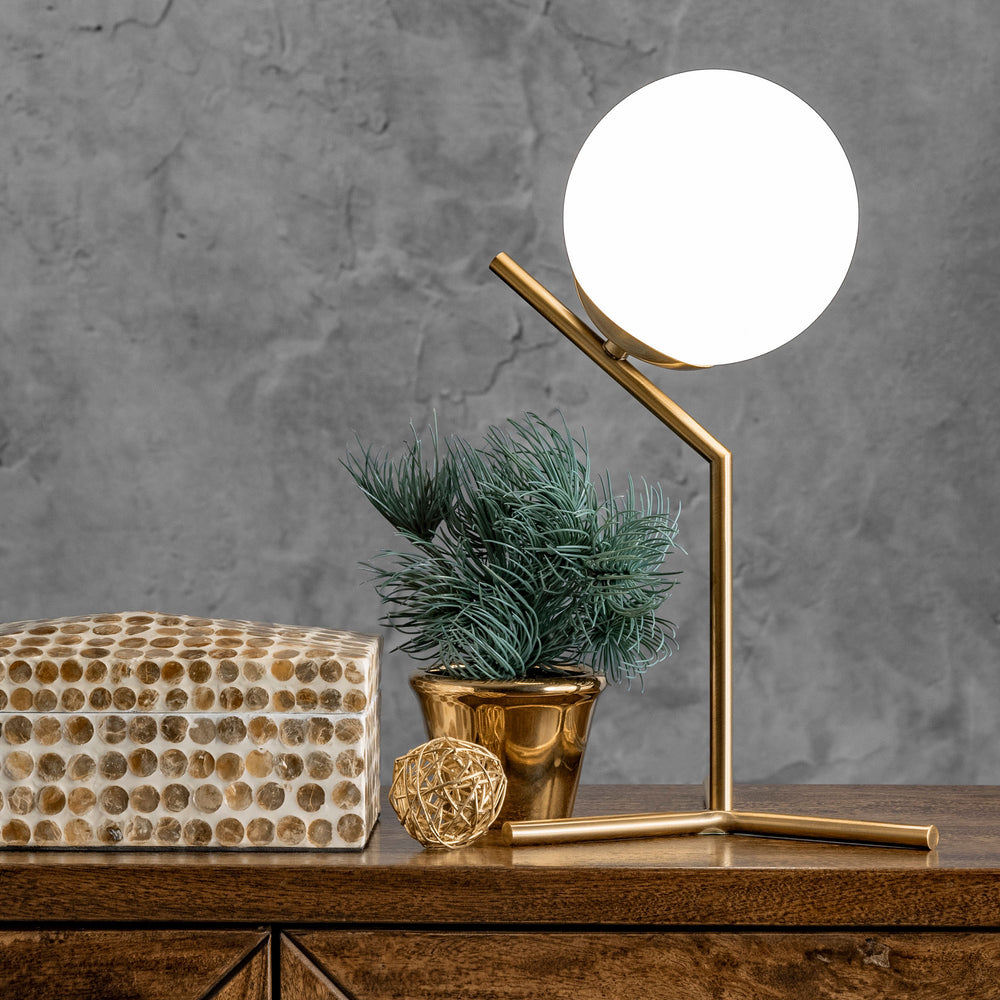 "Pierre 9"" Iron Table Lamp"