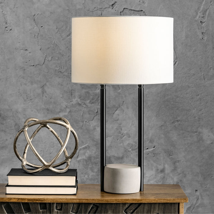 "Bryant 24"" Cement Table Lamp"