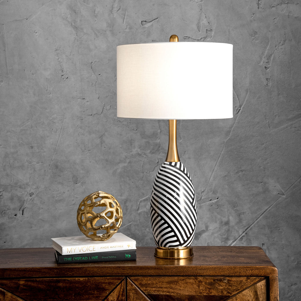 "Ortley 24"" Iron Table Lamp"
