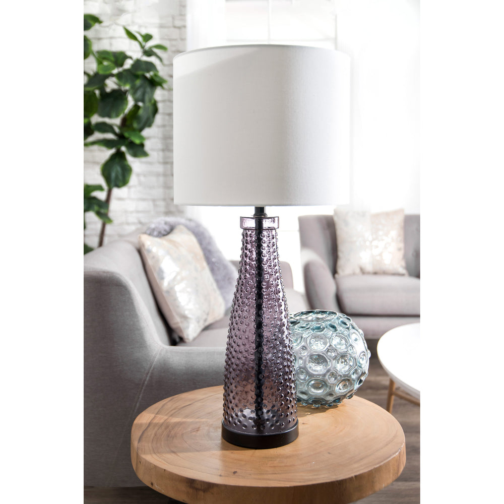 "Warren Glass 29"" Table Lamp"