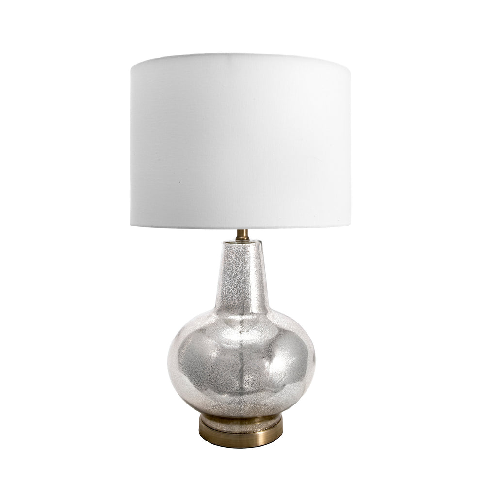 "Tustin Glass 28"" Table Lamp"