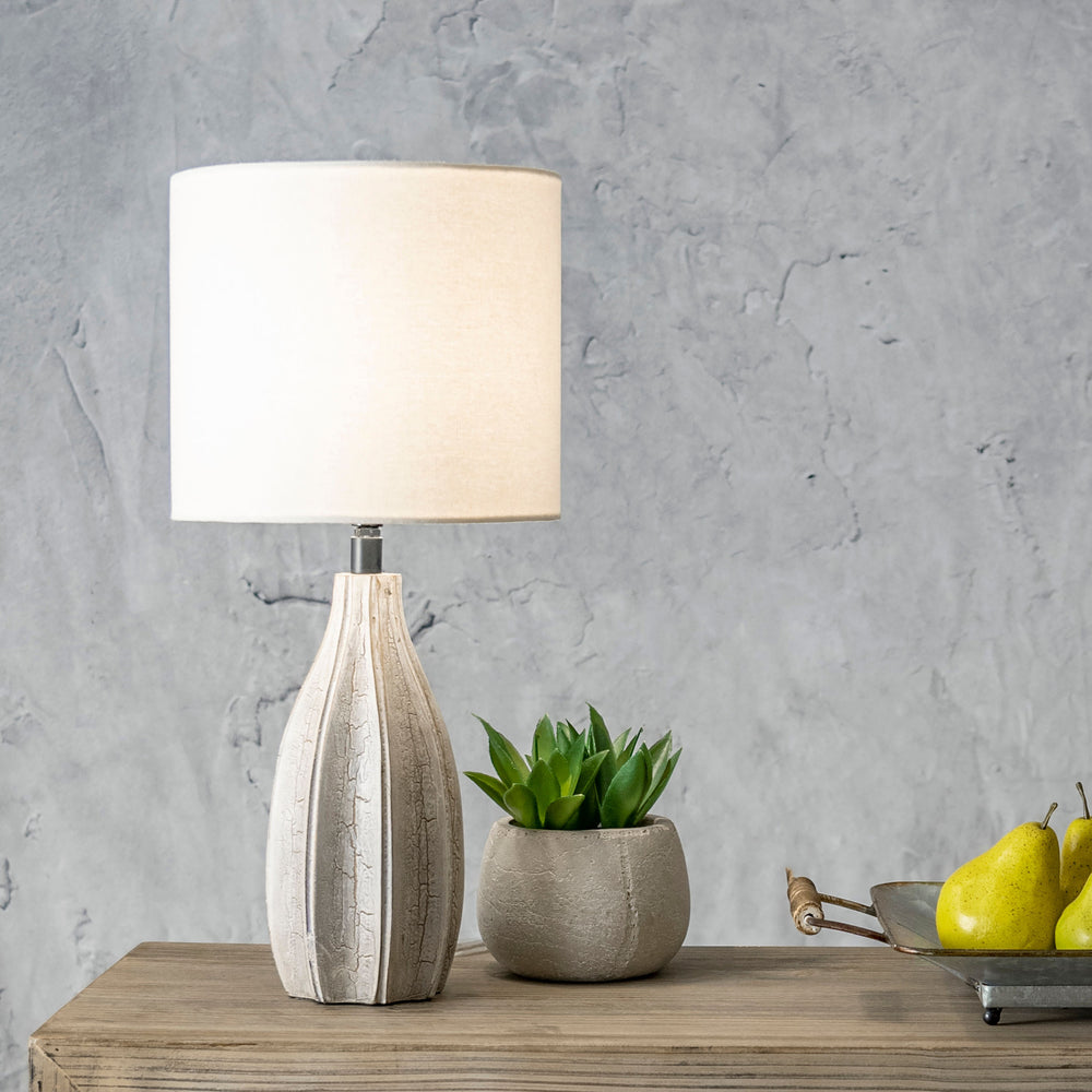 "Burlington 20"" Wood Table Lamp"