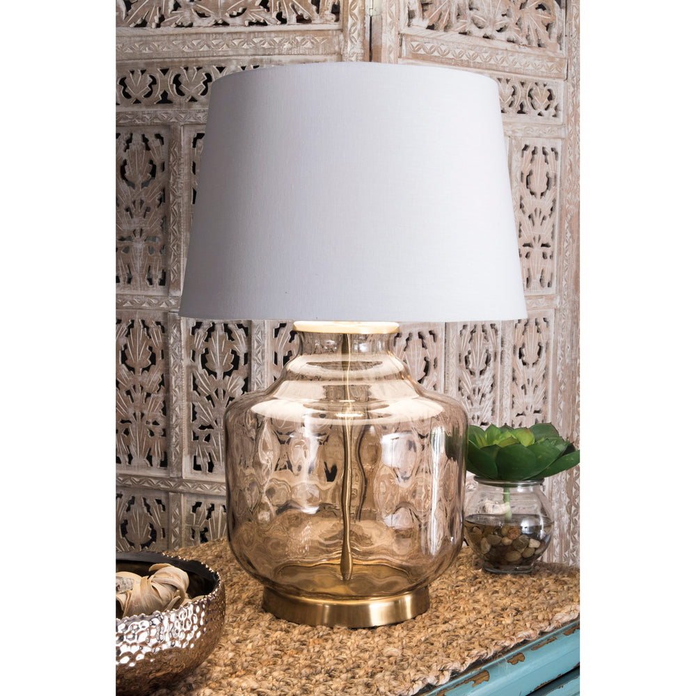"Wellington Glass 26"" Table Lamp"