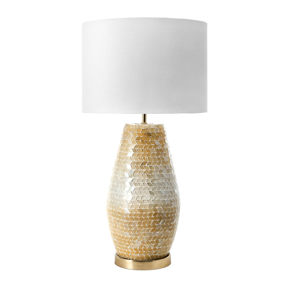 "Colby 25"" Glass  Table Lamp"