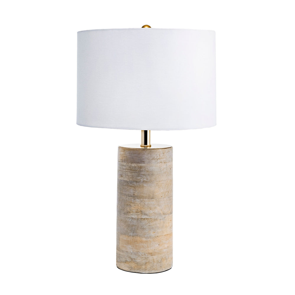 "Berry 21"" Wood Table Lamp"