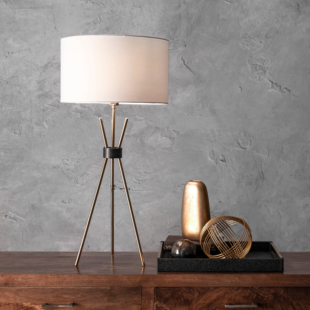 "Albany Aluminum 36"" Table Lamp"