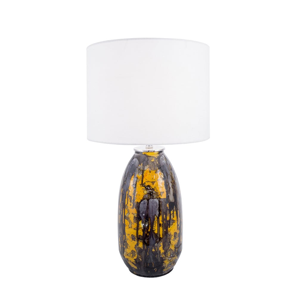 "Clinton Glass 25"" Table Lamp"