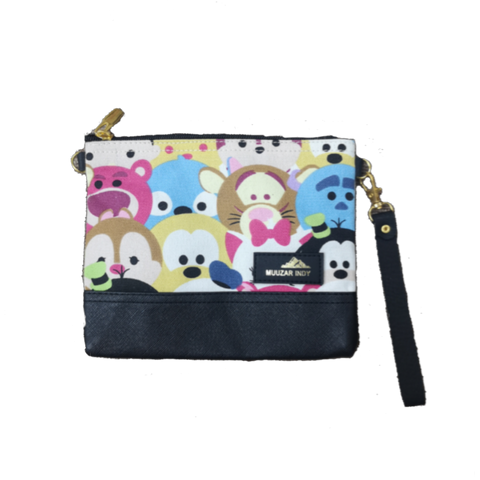Handmade Canvas Tsum Tsum Small Bag