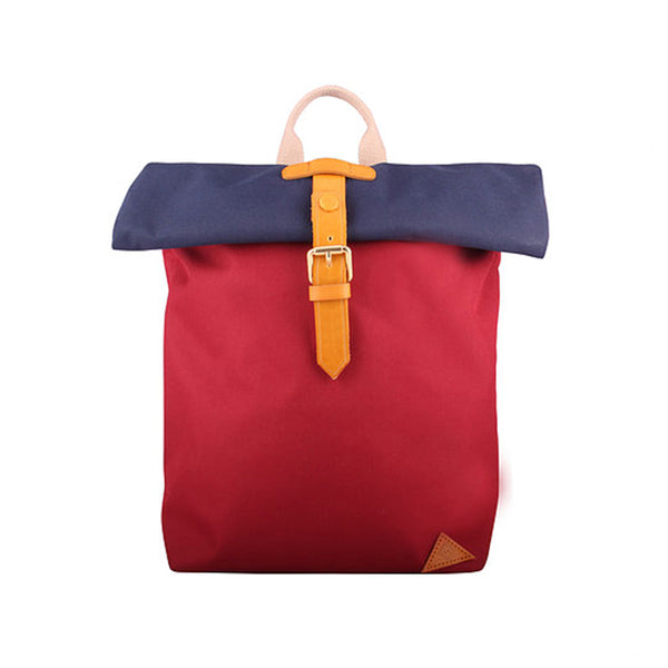Brooklyn backpack - Navy/Wine
