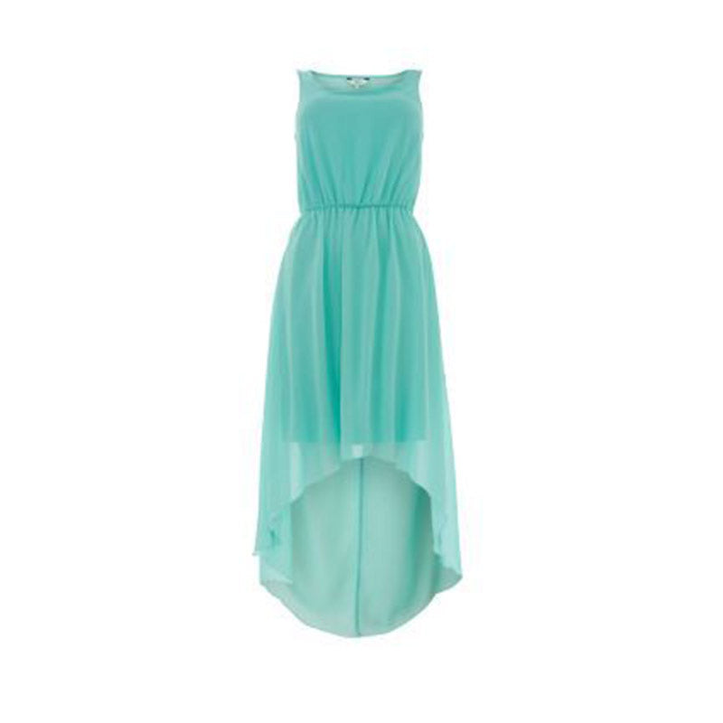 Mint Green Cut Out Wrap B Dress
