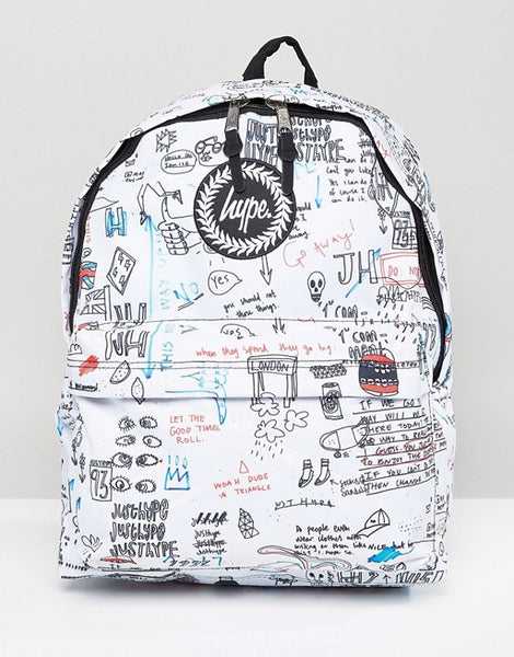 Hype illustrated Backpack