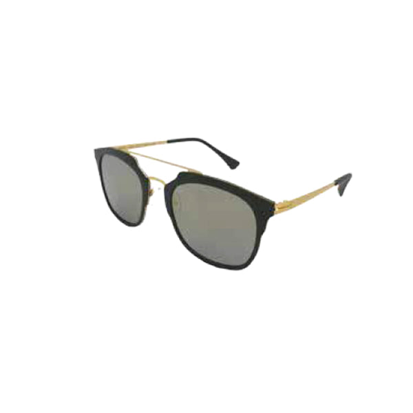 Maui Light Weight UV Sunglasses - Black/Gold
