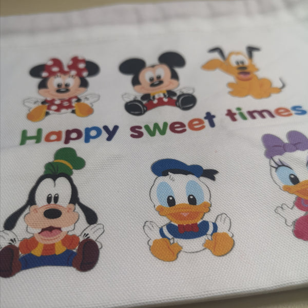 Happy Sweet Times Canvas Bag