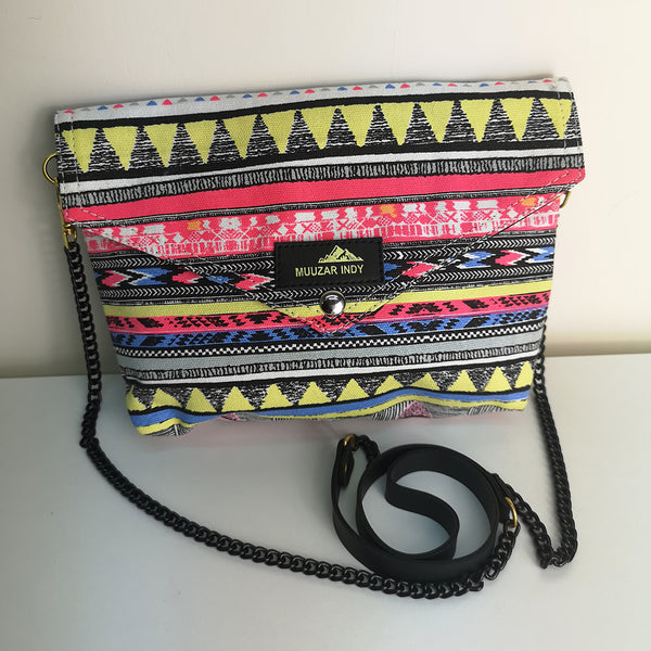 Handmade Canvas Ethnic Bag