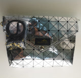 Handmade Metallic Silver Bag