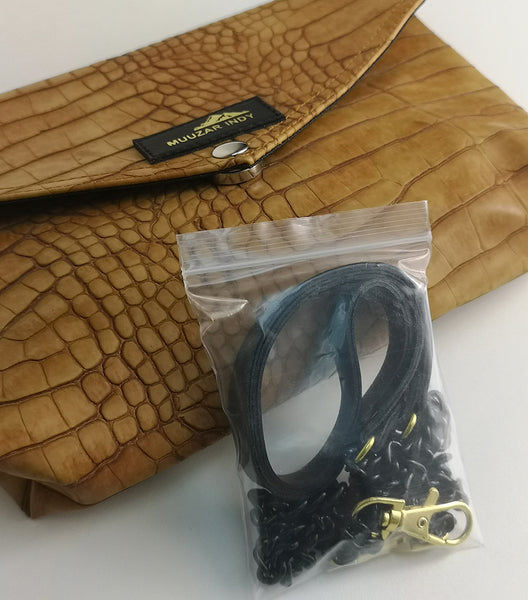 Handmade Snake Pattern Bag