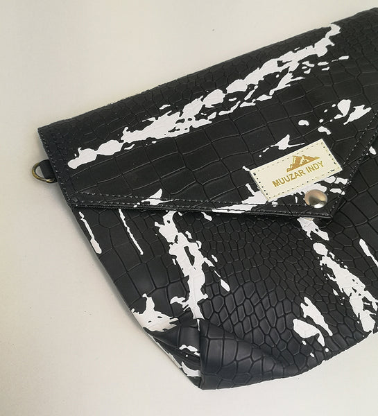 Handmade Splash ink Print Bag