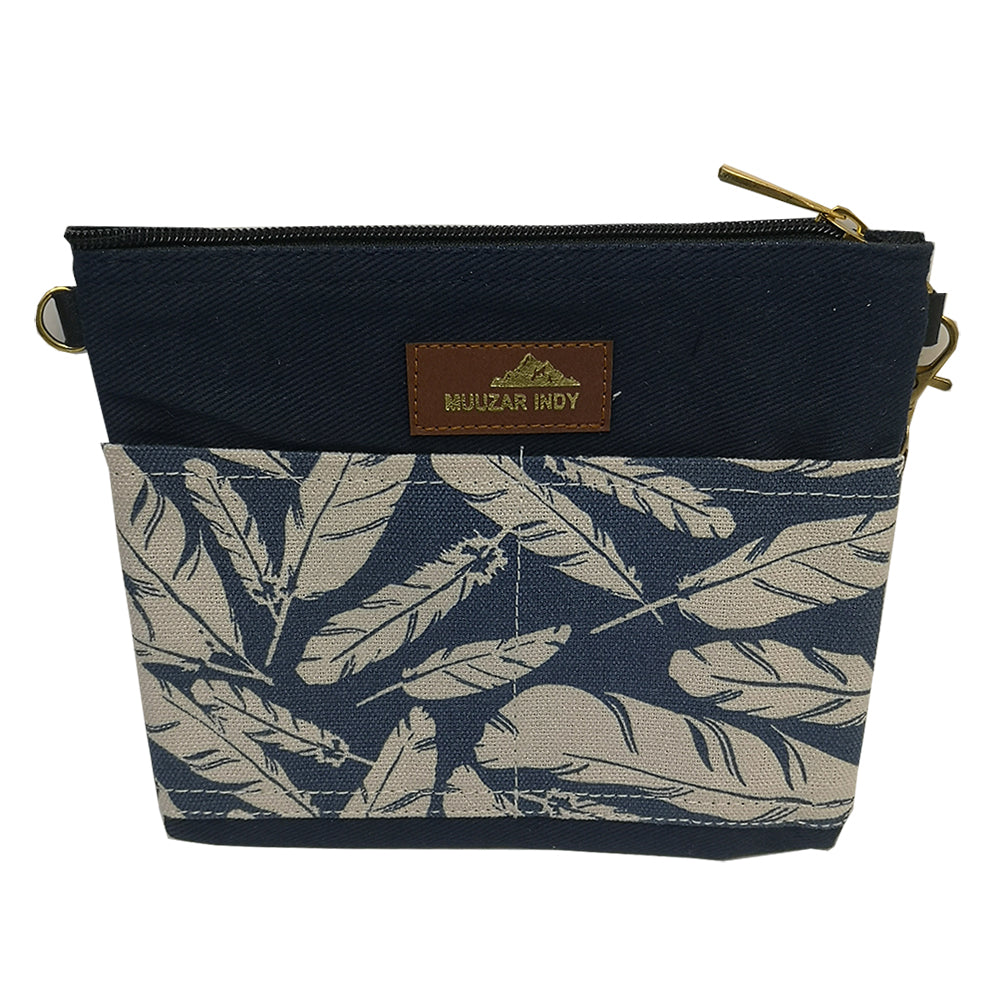 Handmade Leaf Print Bag