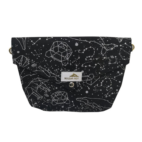 Handmade Constellation Print Bag
