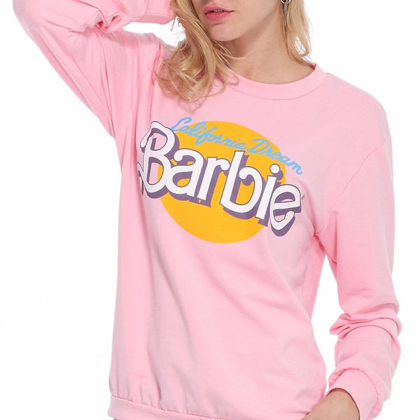 Barbie Pink Sweatshirt